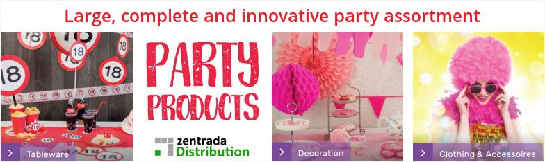 Party Products Geschenkartikel CenterTop