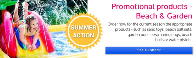 Display Spielwaren Sommeraktion