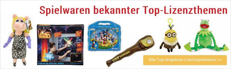 Display Spielwaren Lizenzspielwaren