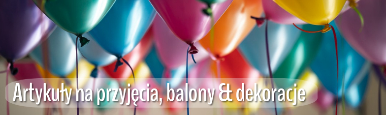 Partyartikel Partydeko Balllons Tischdeko Geburtstag hurtownia