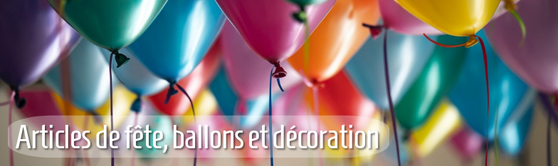Partyartikel Partydeko Balllons Tischdeko Geburtstag grossiste
