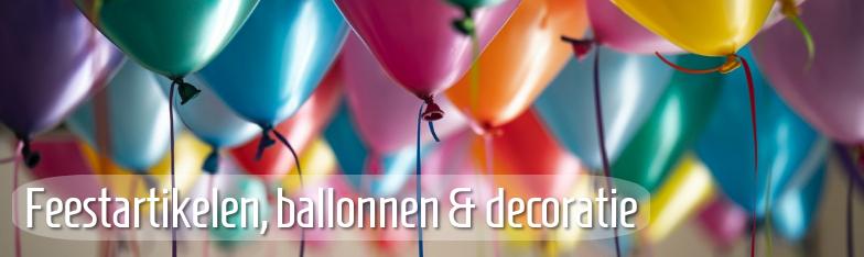 Partyartikel Partydeko Balllons Tischdeko Geburtstag groothandel