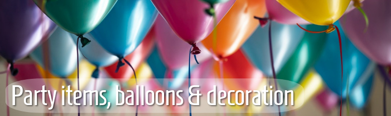 Partyartikel Partydeko Balllons Tischdeko Geburtstag wholesale