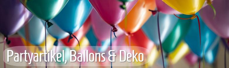 Partyartikel Partydeko Balllons Tischdeko Geburtstag Großhandel