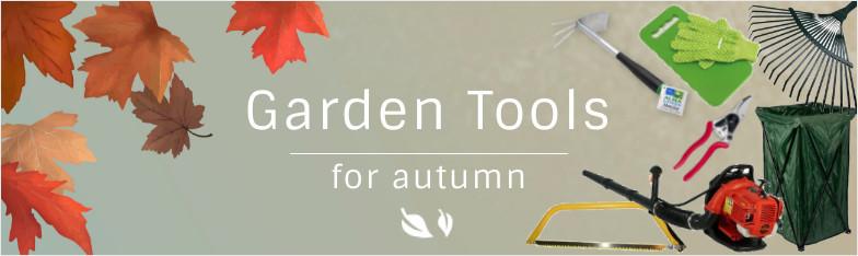 Gartengeräte Herbst Gartenwerkzeug Säge Gartenschere Laubbläser Laubsack wholesale