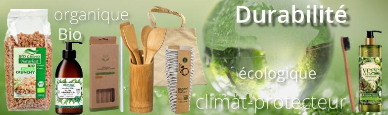 Nachhaltigkeit Organic Klimaschutz Bio Sustainable umweltfreundlich grossiste