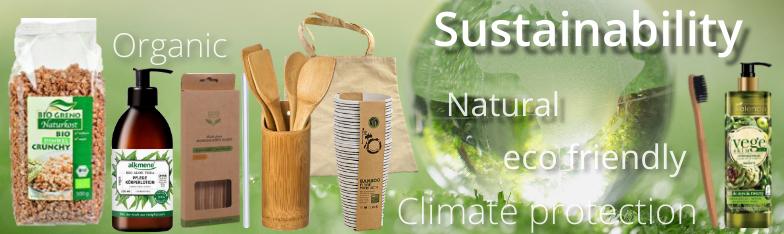 Nachhaltigkeit Organic Klimaschutz Bio Sustainable umweltfreundlich wholesale