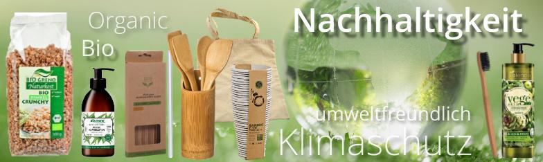 Nachhaltigkeit Organic Klimaschutz Bio Sustainable umweltfreundlich Großhandel