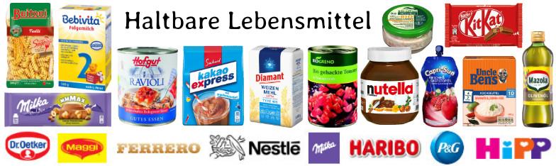 Lebensmittel Food Süßwaren Mehl Hefe Nudeln Großhandel