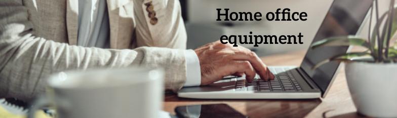 Homeoffice Home Office Heimarbeit Büromaterial Kopfhörer Laptop ingrosso