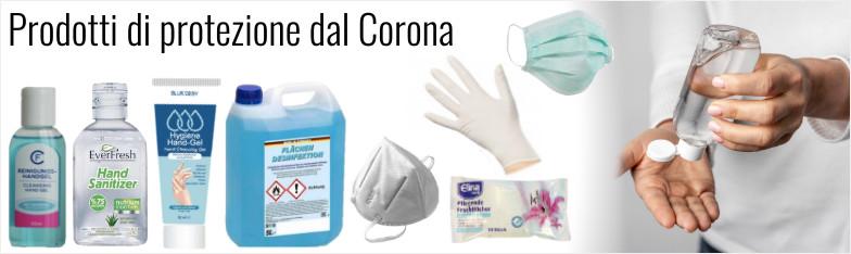 Corona Schutz Masken FFP2 Schutzmaske Desinfektion Handgel Mundschutz ingrosso