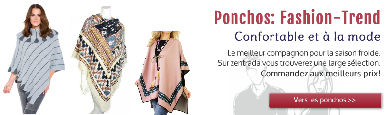 Ponchos grossiste