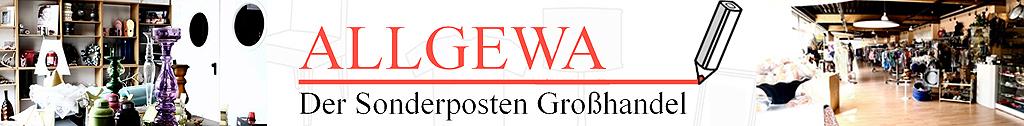 Großhandel - ALLGEWA der Sonderposten Großhandel mit breitem Sortiment