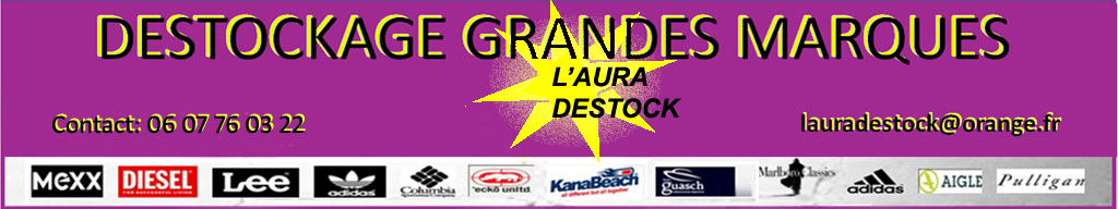 grossiste - L'AURA DESTOCK
