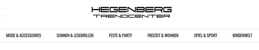 Großhandel - Hegenberg Trendcenter