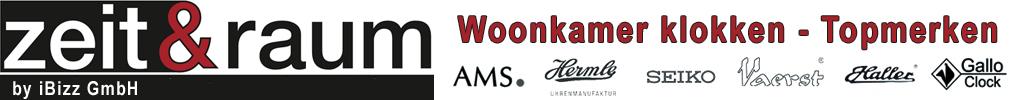 groothandel - Zeit & Raum - Woonkamer klokken by iBizz GmbH
