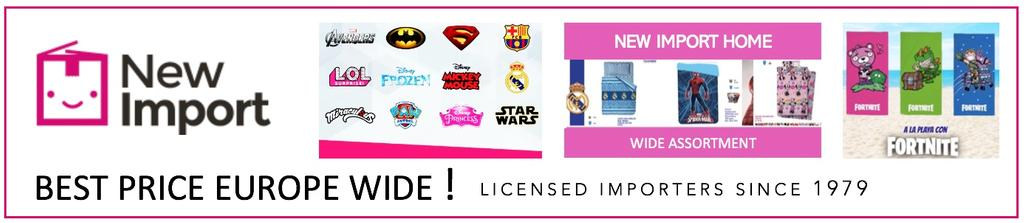 wholesale - New Import Licencias