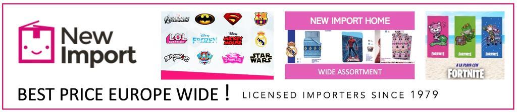 wholesale - New Import Licencias
